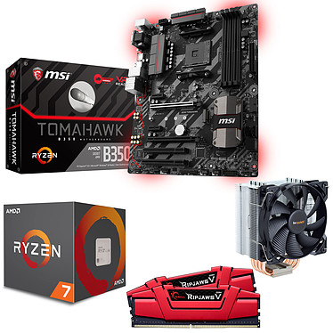 Kit Upgrade PC AMD Ryzen 7 1700X MSI B350 TOMAHAWK 16 Go