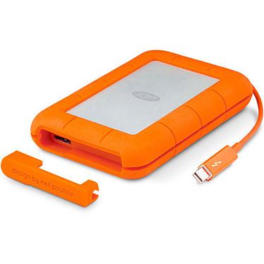 LaCie Rugged Thunderbolt SSD 500 Go Disque dur externe antichoc 2.5'' - Thunderbolt et USB 3.0 (garantie constructeur 3 ans)