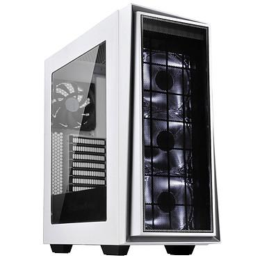 SilverStone Redline RL06 Pro (Blanc) Boîtier moyen-tour avec fenêtre et 3 ventilateurs LED Blanc (sans alimentation)