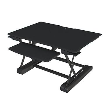 LDLC WED91B Poste de travail assis-debout avec hauteur réglable et support clavier
