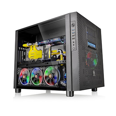Thermaltake Core X5 Tempered Glass Edition Noir pas cher