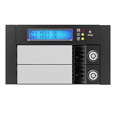 "RAIDON SR2611-2S-S2R+ Système RAID interne pour 2 disques durs 3""1/2 Serial ATA 6.0 GB/s (dans 2 baie 5""1/4)"