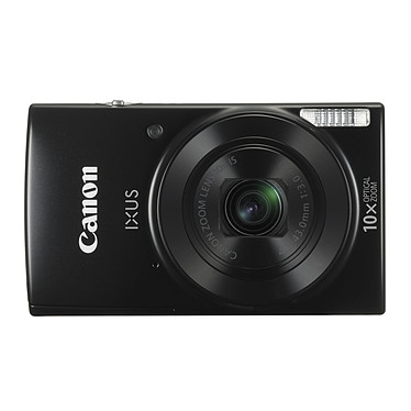 Canon IXUS 190 Noir Appareil photo 20 MP - Zoom optique grand angle 10x - Vidéo HD - Wi-Fi - NFC