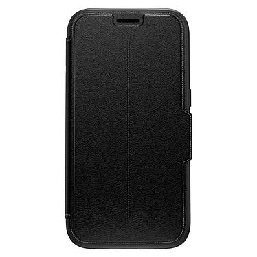 OtterBox Strada Noir Onyx Galaxy S7 Etui folio en cuir véritable pour Samsung Galaxy S7