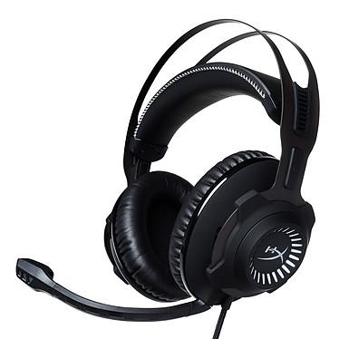 HyperX Cloud Revolver S Casque gaming fermé - son surround Dolby 7.1 via boitier USB - micro à réduction de bruit - structure en acier - mousse à mémoire de forme - commandes intégrées - certifié TeamSpeak et Discord