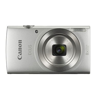 Canon IXUS 185 Argent Appareil photo 20 MP - Zoom optique grand angle 8x - Vidéo HD