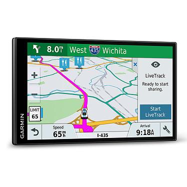 """Garmin DriveSmart 61 LMT-S (Europe du Sud) GPS 15 pays d'Europe Ecran 6.95"""" sans bords, reconnaissance vocale, Bluetooth, Wi-Fi"""