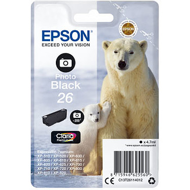 Epson Ours Polaire 26 Noir Photo