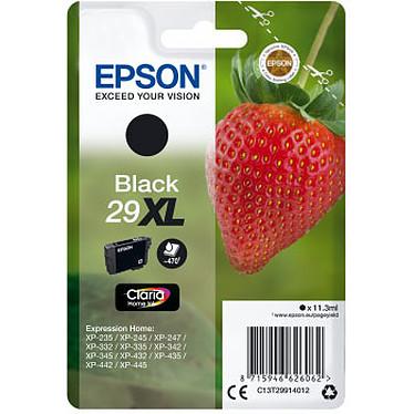 Epson Fraise 29XL Noir Cartouche d'encre Noire (11.3 ml / 470 pages)