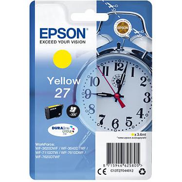Epson Réveil 27 Jaune Cartouche d'encre jaune (300 pages à 5%)