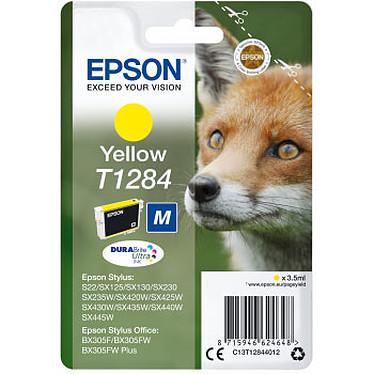 Epson Renard T1284 Jaune Cartouche d'encre jaune (3.5 ml)