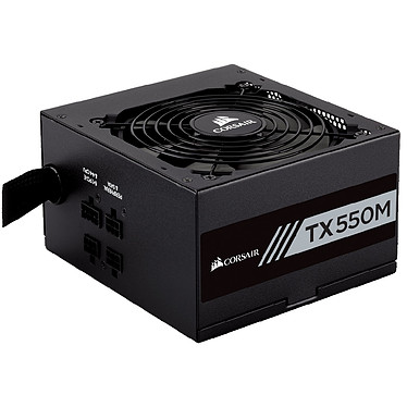 Corsair TX550M 80PLUS Gold Alimentation semi-modulaire 550W ATX12V 2.4 - 80PLUS Gold