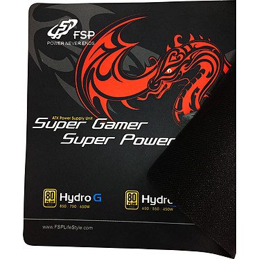FSP Hydro G 650 + Tapis de souris Gaming OFFERT ! pas cher