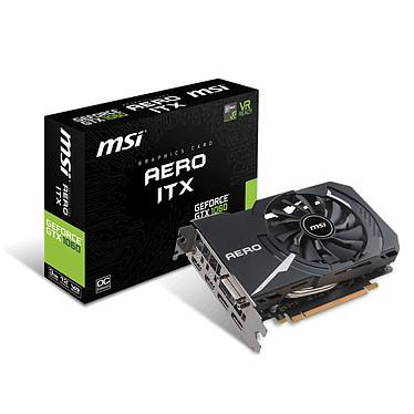 MSI GeForce GTX 1060 AERO ITX 3G OC 3072 Mo DVI/Dual HDMI/Dual DisplayPort - PCI Express (NVIDIA GeForce avec CUDA GTX 1060) - Bonne affaire (article jamais utilisé, garantie 6 mois)