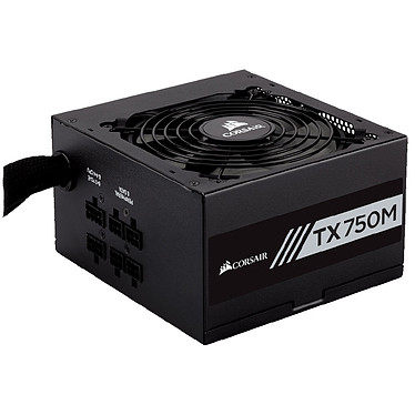 Corsair TX750M 80PLUS Gold Alimentation semi-modulaire 750W ATX12V 2.4 - 80PLUS Gold
