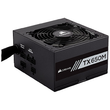 Corsair TX650M 80PLUS Gold Alimentation semi-modulaire 650W ATX12V 2.4 - 80PLUS Gold