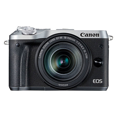 Canon EOS M6 Argent + EF-M 18-150 mm IS STM