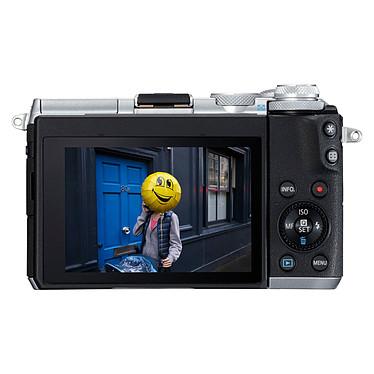 Canon EOS M6 Argent + EF-M 18-150 mm IS STM pas cher
