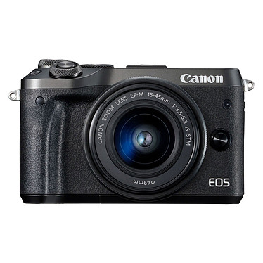 Canon EOS M6 Noir + EF-M 15-45 mm IS STM