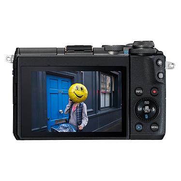 Canon EOS M6 Noir + EF-M 15-45 mm IS STM pas cher