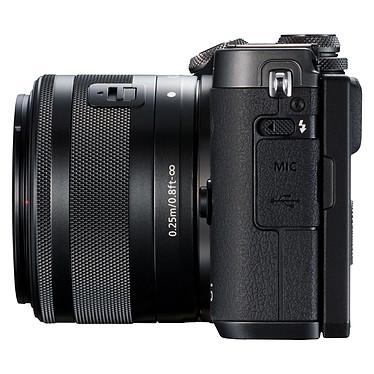 Acheter Canon EOS M6 Noir + EF-M 15-45 mm IS STM