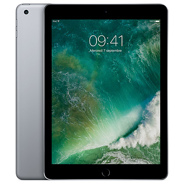 "Apple iPad Wi-Fi 128 GB Wi-Fi Gris sidéral Tablette Internet - Apple A9 eMMC 128 Go 9.7"" LED tactile Wi-Fi AC/Bluetooth Webcam iOS 10"