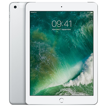 Apple iPad Wi-Fi 128 GB Wi-Fi + Cellular Argent