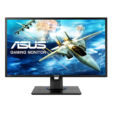 "ASUS 24"" LED - VG245HE 1920 x 1080 pixels - 1 ms (gris à gris) - Format large 16/9 - Flicker Free - HDMI - FreeSync"