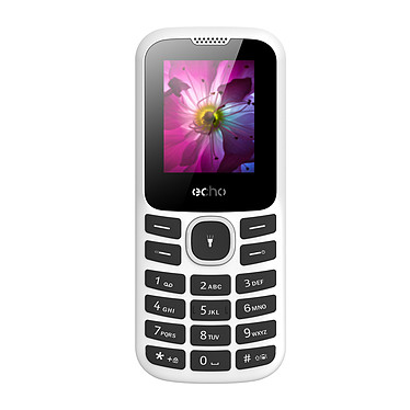 "Echo First 2 Plata Teléfono 2G Dual SIM - RAM 32 MB - Pantalla 1.77"" 128 x 160 - 32 MB - Bluetooth 2.1 - 800 mAh"