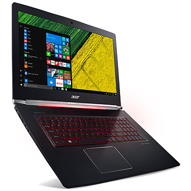 "Acer Aspire V17 Nitro VN7-793G-58C9 Black Edition Intel Core i5-7300HQ 8 Go SSD 256 Go + HDD 1 To 17.3"" LED Full HD NVIDIA GeForce GTX 1050 Ti 4 Go Wi-Fi AC/Bluetooth Webcam Windows 10 Famille 64 bits"