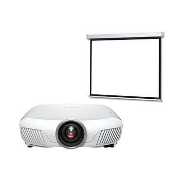 Epson EH-TW7300 + LDLC Ecran motorisé 240 x 135 Vidéoprojecteur 3LCD Full HD 1080p 3D 2300 Lumens HDR, HDMI et Ethernet + Ecran motorisé - Format 16:9 - 240 x 135 cm