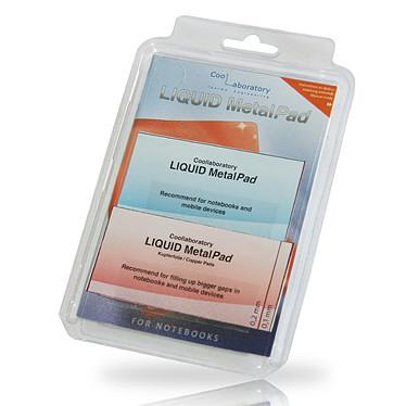 Coollaboratory Liquid MetalPad - Notebook Pad thermique pour PC Portable - 76 x 38 mm