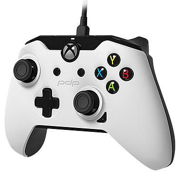 PDP Wired Controller Blanc (PC/Xbox One)
