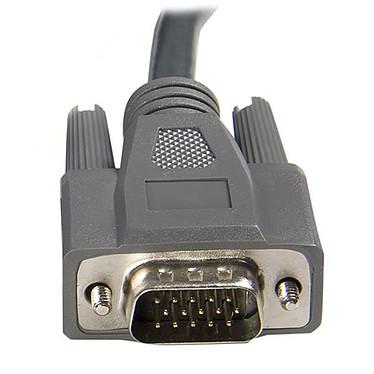 Acheter StarTech.com Câble ultra-fin pour Switch KVM 2-en-1 VGA/USB 2-en-1 - 3 mètres