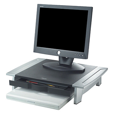 Fellowes Soporte de pantalla Office Suites Soporte para monitor LCD de hasta 36 kg, altura regulable