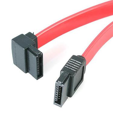 StarTech.com SATA6LA1 Cable SATA en el ángulo izquierdo compatible con SATA 3.0 (15 cm)