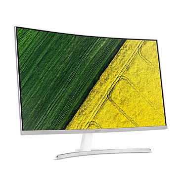 """Acer 31.5"""" LED - ED322Qwmidx 1920 x 1080 pixels - 4 ms - Format large 16/9 - Dalle VA incurvée - HDMI - Argent (Garantie constructeur 2 ans)"""