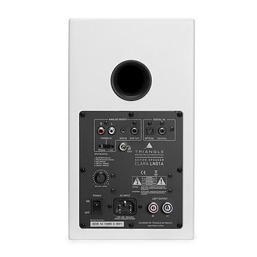 Audio-Technica AT-LP120USBC Noir + Triangle Elara LN01A Blanc mat pas cher