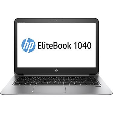 """HP EliteBook Folio 1040 G3 (V1A82EA) Intel Core i5-6200U 8 Go SSD 256 Go 14"""" LED Full HD Wi-Fi AC/Bluetooth/4G Webcam Windows 7 Professionnel 64 bits + Windows 10 Professionnel 64 bits"""