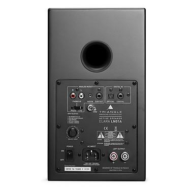 Audio-Technica AT-LP120USBC Noir + Triangle Elara LN01A Noir mat pas cher