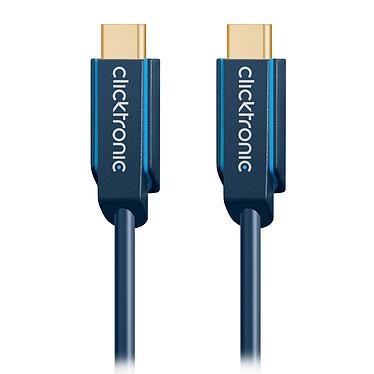Comprar Clicktronic Cable USB-C a USB-C USB-C 3.1 (macho/macho) - 2 m