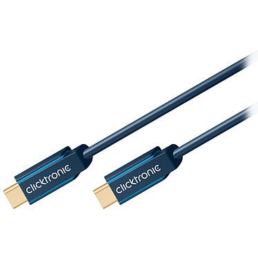 Opiniones sobre Clicktronic Cable USB-C a USB-C USB-C 3.1 (macho/macho) - 2 m