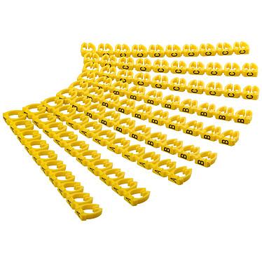 Goobay Clips pour câble 6 mm (A-C)