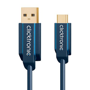 Acheter Clicktronic Câble USB-C To USB-A 3.0 (Mâle/Mâle) - 0.5 m