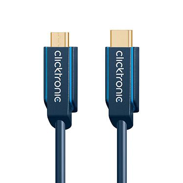 Acheter Clicktronic Câble USB-C To Micro USB-B 2.0 (Mâle/Mâle) - 3 m