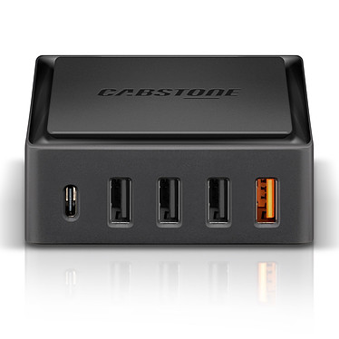 Cabstone Quick Charge 5 Ports Desktop Charger