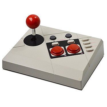 Steelplay Edge Joystick (Mini NES) + Cheat Book Stick Arcade pour Mini NES + Livre de codes de triche