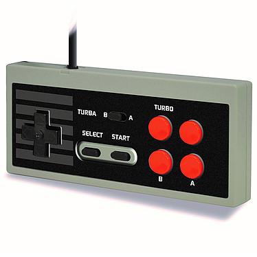 Steelplay Edge Gamepad (Mini NES) + Cheat Book Manette pour Mini NES + Livre de codes de triche