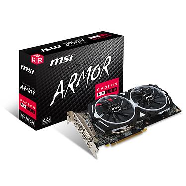 MSI Radeon RX 580 ARMOR 8G OC 8 Go DVI/Dual HDMI/Dual DisplayPort - PCI Express (AMD Radeon RX 580)