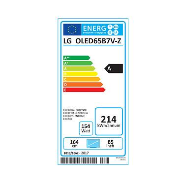 LG OLED65B7V pas cher